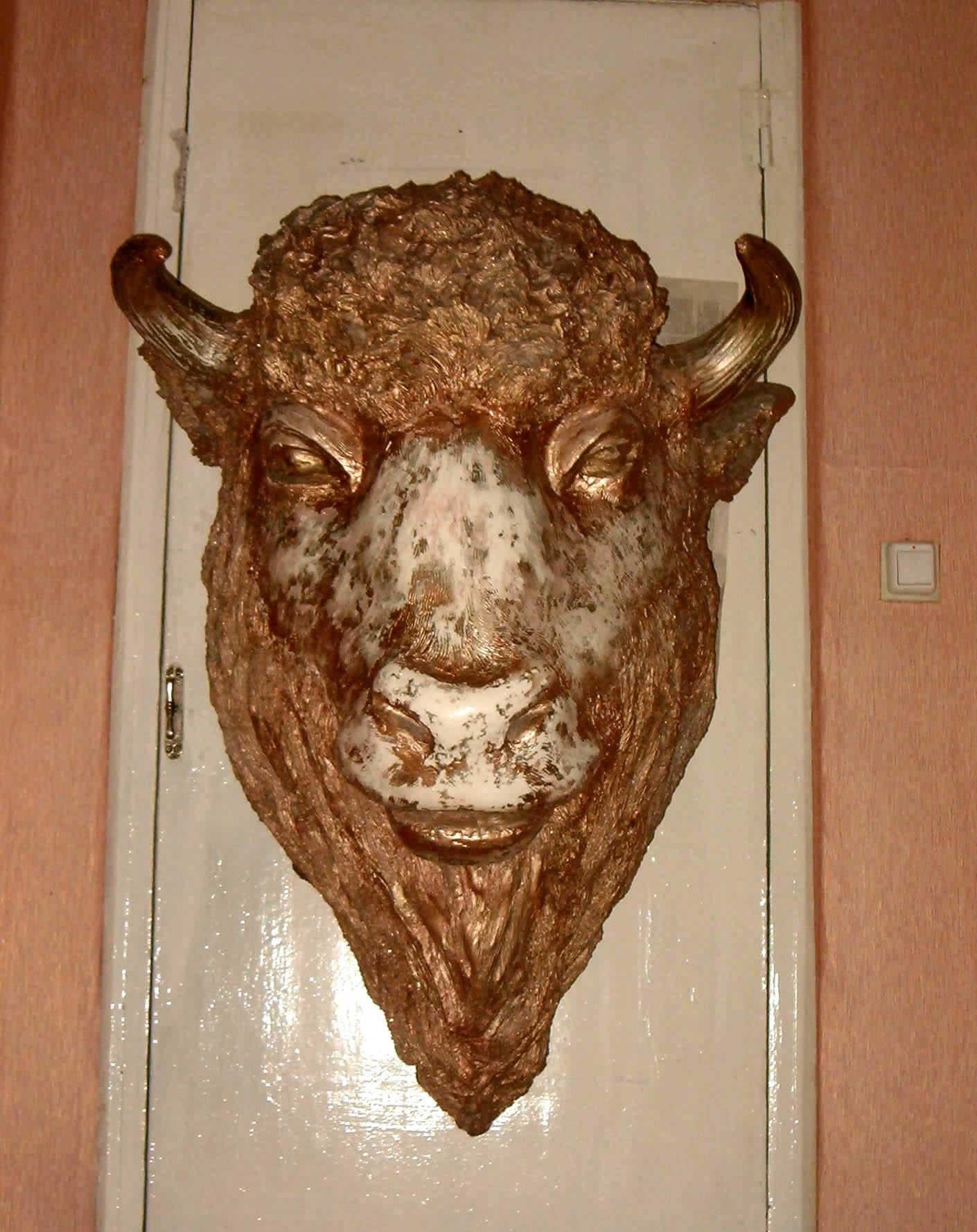 Голова оленя на стену 50